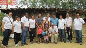 Depués de la visita a casa de familia parte del proyecto.